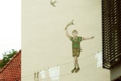271-Wandmalerei-´Der-Seiltänzer´-Ittlingen